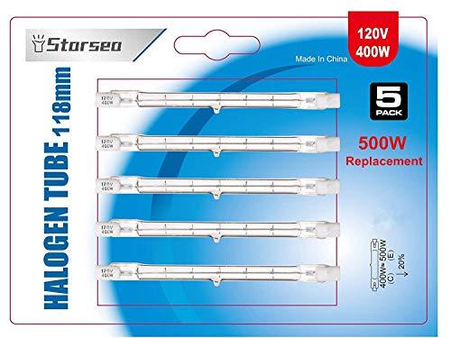 One bulb G8 20W 20 Watt 120V Halogen Light Bulb JCD Type G8 Base 110V 120V 130 Volt 20 Watt 1.38 Inch Long Anyray brand