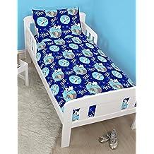 Frozen Disney Junior Toddler Bed Size Cot Bed Bedding Set