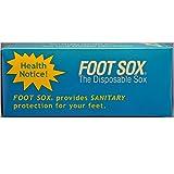 Foot Sox Original Sanitary Disposable Try on Socks (Knee High Version) (Womens Tan)