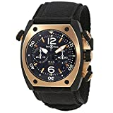 Bell & Ross Marine BR02-CHR-BICOLOR Matte PVD Black Steel Automatic Men's Watch