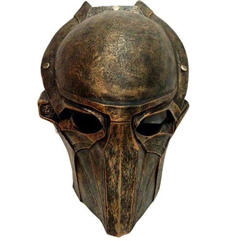 Gmasking Resin Predator Wolf Movie Mask+Gmask Keychain (Predator Costumes For Kids)