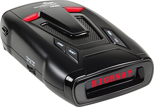Whistler CR85 High Performance Laser Radar Detector: 360 Degree Protection and Voice Alerts - Real Street Performance