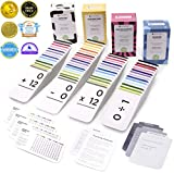 681 Math ADDITION, SUBTRACTION, MULTIPLICATION and DIVISION FLASH CARDS | Bundle Kit with Full Box Sets | All Facts Color Coded | Best for Kids in Kindergarten, 1ST, 2ND, 3RD, 4TH, 5TH and 6TH Grade