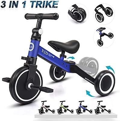 XJD 3 en 1 Bebé Triciclo Bicicleta de Equilibrio para Niños y ...