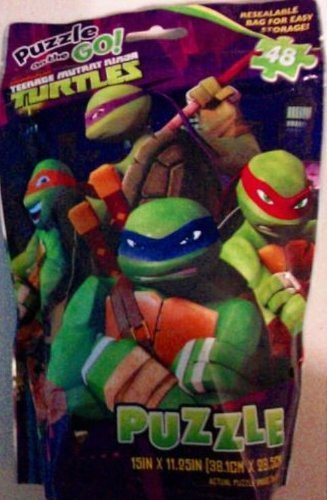 Nickelodeon Teenage Mutant Ninja Turtles Puzzle on the Go (48 Pieces)