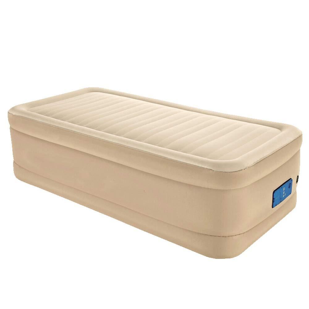 RKY Luftbett- Single aufblasbares Bett doppeltes Starkes Luftbett eingebautes intelligentes aufblasbares Wohnzimmerbett Büro-Siestabett / - /
