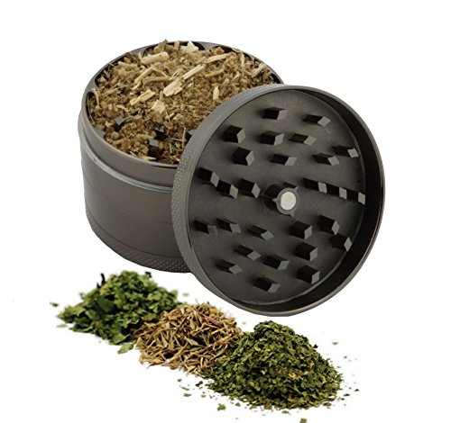 Aries Zodiac Design Large Size Zinc Grinder With Your Name FREE - Gift Pack Item # 111315-259
