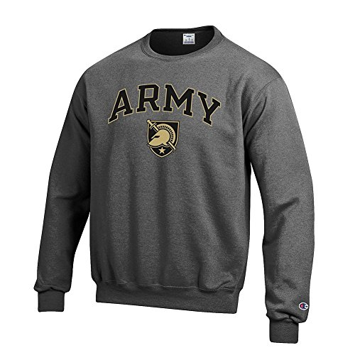 (Elite Fan Shop Army Knights Crewneck Sweatshirt Charcoal - XXL)