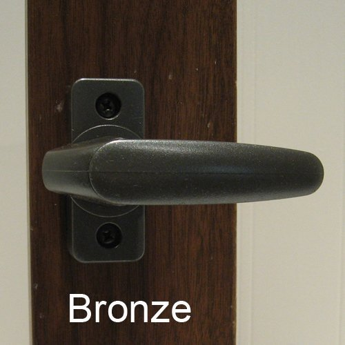 Inside Handle Storm Door Latch Bronze-Turn Handle Only