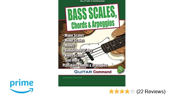 Amazon.com: Bass Scales, Chords And Arpeggios (9780955656682 ...