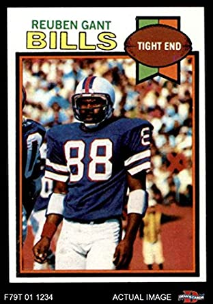 41cda2585 1979 Topps   358 Reuben Gant Buffalo Bills (Football Card) Dean s Cards 7 -