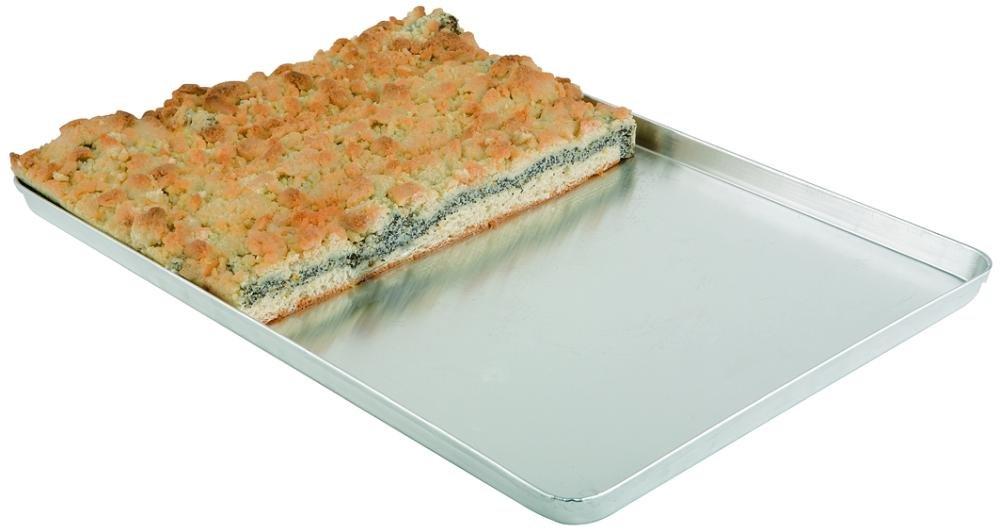 40 Stück Blaublech Profi Pizzablech Pizzaform rund Ø 26 cm Gastlando