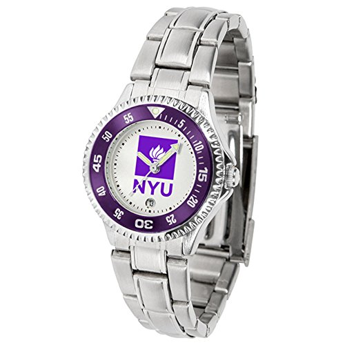 Ncaa Competitor Metal Band Watch - New York Violets NCAA