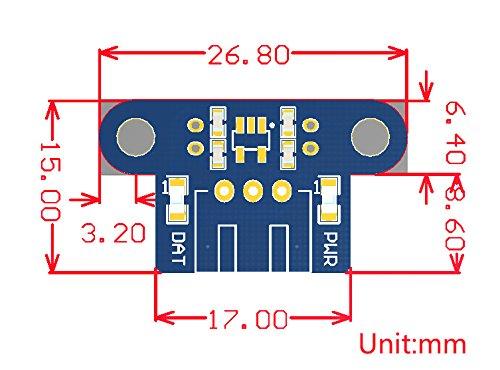 Waveshare Photo Interrupter Sensor Robot Speed Measuring Module Detector for Arduino Power 3.3V to 5V by waveshare (Image #4)