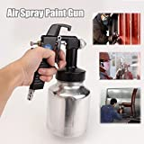 Low Pressure Air Spray Paint Gun House Latex Stain Varnish Painting Fence NEW