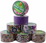Duck Brand Duct Tape Set, Assorted Colors and Printed Patterns, set of 7 rolls
