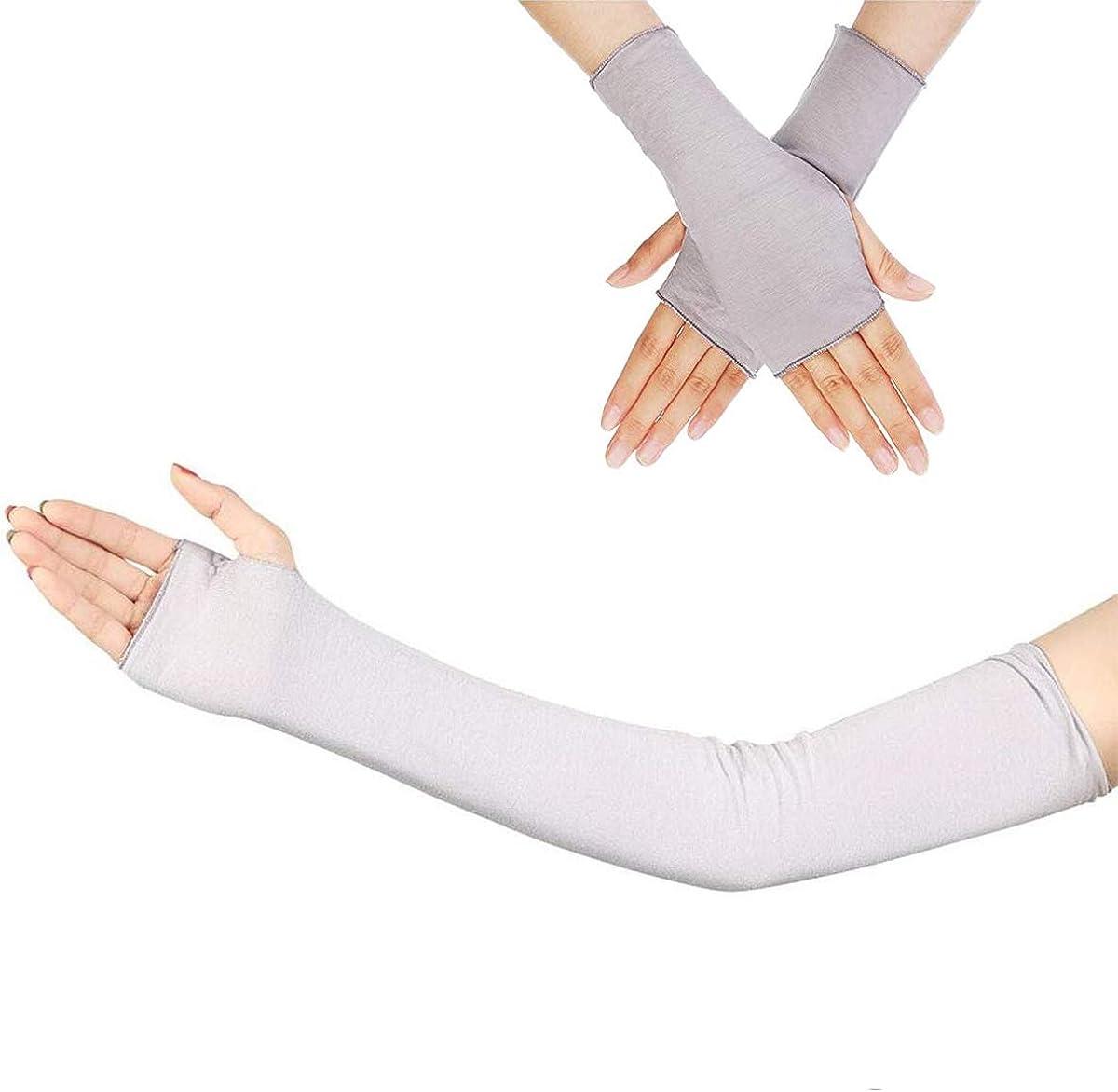 Cityelf Anti UV Arm Sch/ützer Warm bleiben /Ärmel handschuhe Damen Armstulpen Sonnenschutz Handschuhe f/ür Fahren
