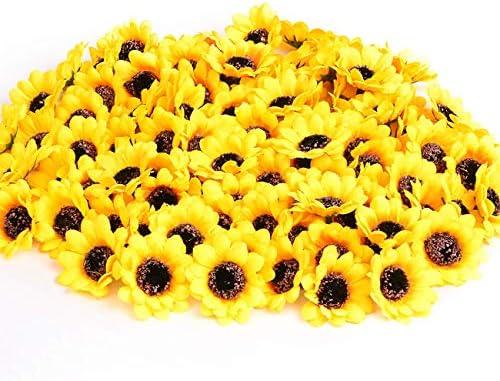 KINWELL Artificial Sunflower Decoration Wedding