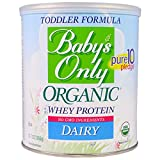 Nature's One, Baby's Only Organic, Toddler Formula Whey Protein, Dairy, 12.7 oz (360 g) - 2PC