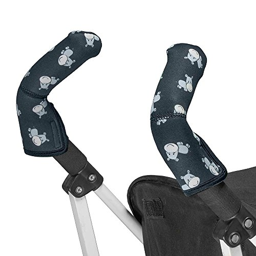 Choopie Stroller Handle Covers, Baby Hippo