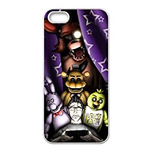 Five Nights At Freddy'S Iphone 4 4S Cell Phone Case White JN760302