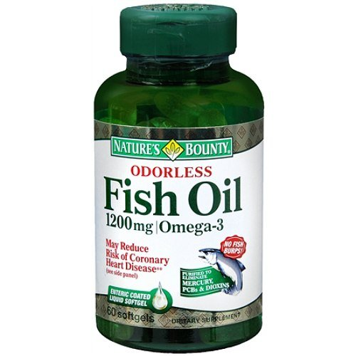Nature's Bounty Fish Oil, 1200mg, 180 Softgels (Pack of 12) by Nature's Bounty