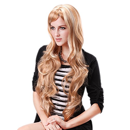 Extra Long Curly Wig - 1