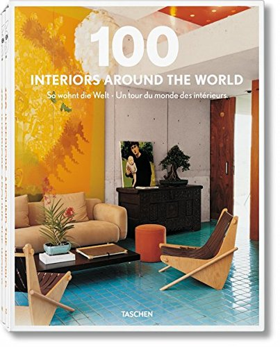 100 Interiors Around the World, 2 Vol. (English, French and German Edition)