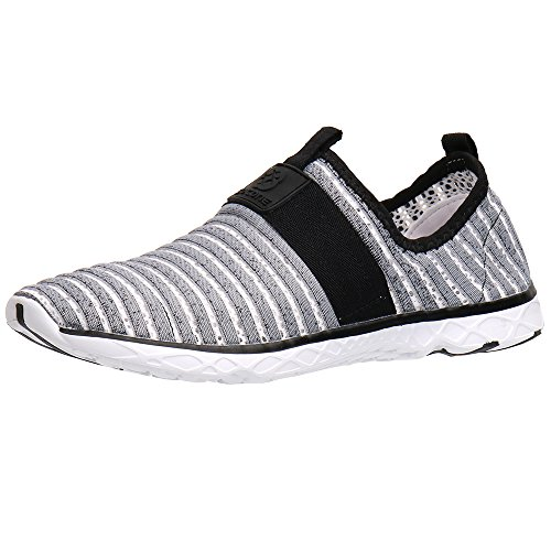 Men Walking Shoe (Water Sport Shoes Aleader Men's Comfortable Tennis Walking Shoes Gray 10 D(M) US)