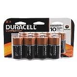 Duracell Coppertop Alkaline D, 8 Count, A2771