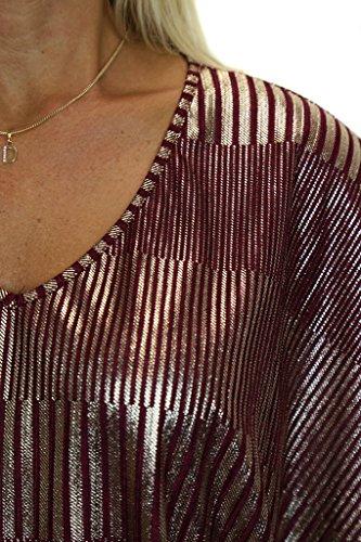 ICE (4086-3) mejor peso ligero de la manga del palo de color rojo oscuro y oro (tamaño 36-46)