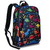 LONECONE Kids School Backpack for Boys and Girls - Sized for Kindergarten, Preschool - Fossil Friends