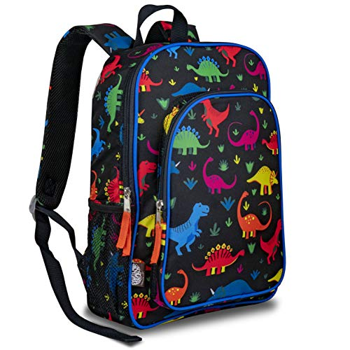 LONECONE Kids' Preschool and Kindergarten Backpack for Boys and Girls, Fossil Friends