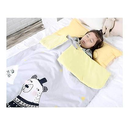 Vicheng El Saco de Dormir del bebé, edredón Fino del algodón del Doble Uso del edredón ...