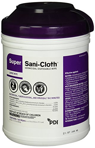 Professional Disposables Surface Disinfectant Sani Cloth
