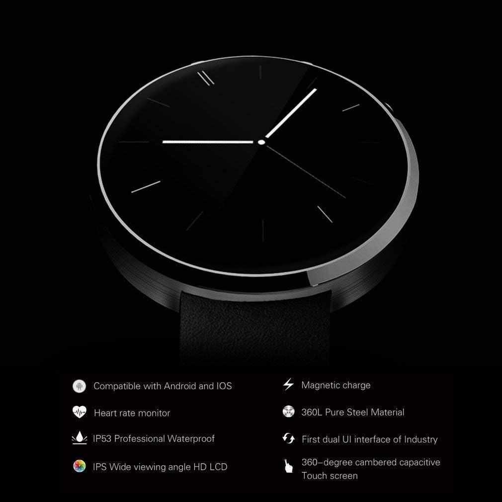 Inteligente Reloj de Frecuencia Cardíaca, Stoga DM360 Monitor de ...