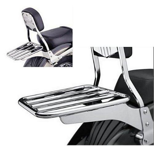 Cobra Sissybar Luggage Tubed Rack for Honda VTX, VT Models