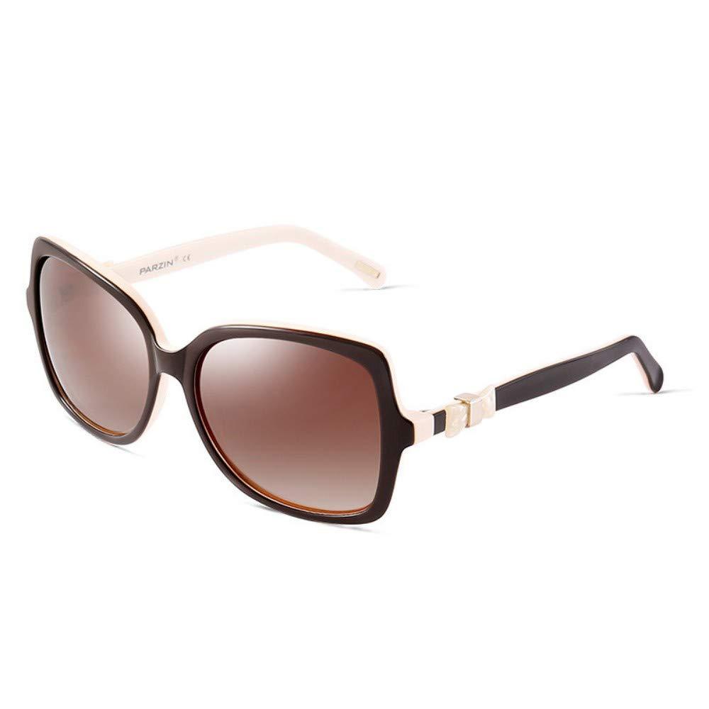Polarized Sunglasses Women'S Sunglasses Retro Trend Driver'S Driving Mirror Sun Visor Brown