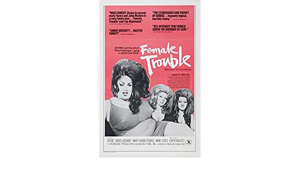 Divine Pink Flamingos Movie Poster Replica 13x19 Photo Print Art