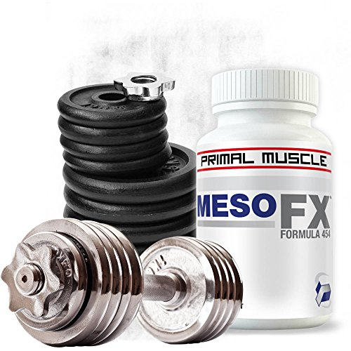 MesoFX ★ Russian Anabolic Muscle Builder For Men ★ 4 Week Bodybuilding Supplement Cycle For Muscle Mass Gain