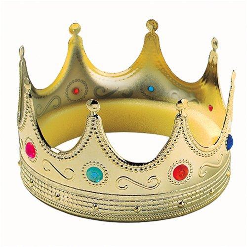 TG,LLC Gold Royal Medieval Mens Prince King Crown