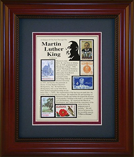 Martin Luther King, Jr. - Unique Framed Collectible (A Great Gift Idea) ()