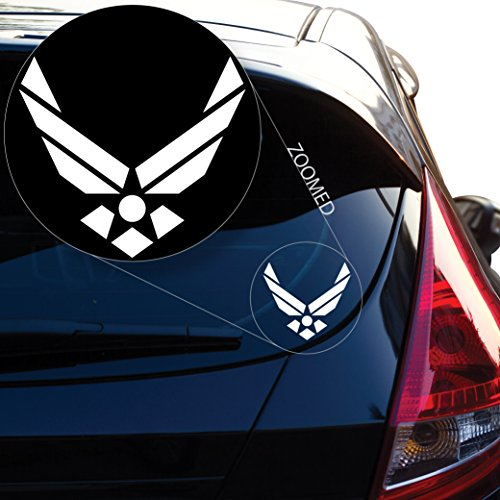 Yoonek Graphics Air Force Decal Sticker for Car Window, Laptop, Motorcycle, Walls, Mirror and More. # 561 (4
