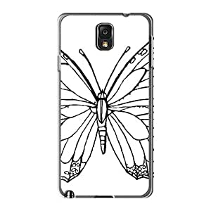Samsung Galaxy Note 3 Txm14175ZvPf Custom Nice Butterfly Skin Scratch Resistant Cell-phone Hard Covers -TimeaJoyce