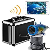 Fishing Finder,Powpro Wcam PP-0DW WIFI 50M Underwater Fishing Camera Wireless Fishing Finder