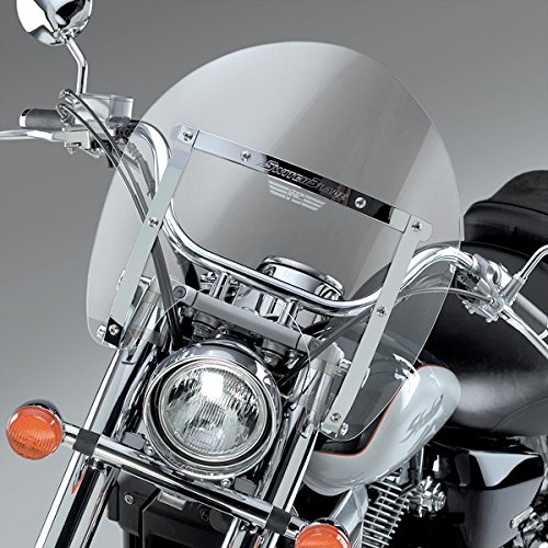National Cycle Switchblade Shorty Windshield Combo Pack (Clear) ()