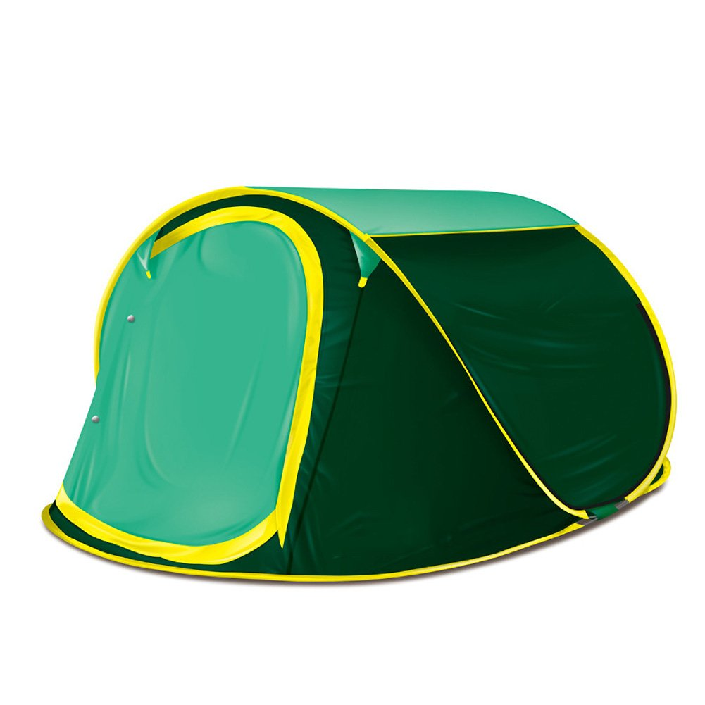 Outdoor Zelten, Pop-up-zelt 2  3 Person Automatische Instant pop-up- Portable Water Resistant Fiberglas Outdoor Zelt Camping