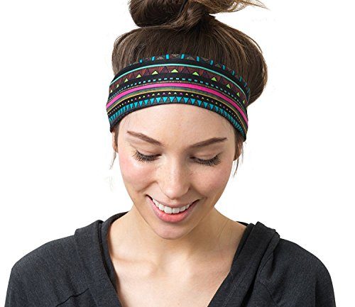 Tribal Black Headband