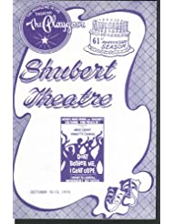 Shubert Theatre New Haven program Don't Bother Me I Can't Cope 1975