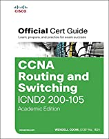 CCNA Routing and Switching ICND2 200-105 Official Cert Guide, Academic Edition Front Cover